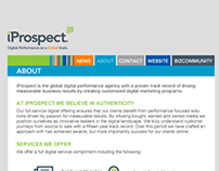 iProspect, Bizzcommunity Microsite
