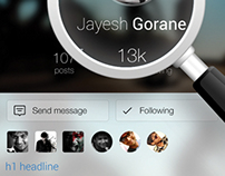 twitter profile page redesign