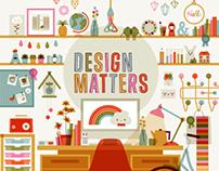 Computer Arts 'Design Matters' Illustration