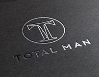 TOTAL MAN branding