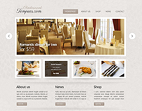Restaurant design for Tempees.com Premium