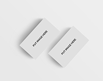 Free Realistic Business Card Mockups Psd
