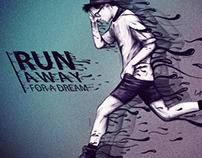 Run / ilustración Digital
