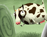 Cow Abducted -  Game for Recreio Magazine