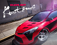 KIA KOUP KUSTOMS