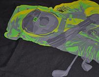 """""""Yes, Astronauts Golf"""" / Kovek Clothing"""