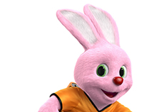 Duracell Bunny on a journey