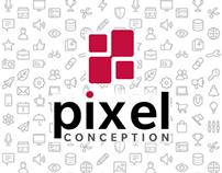 Pixel Conception - Brand Identity