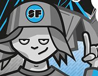 Scootfest Festival - Branding & Illustration