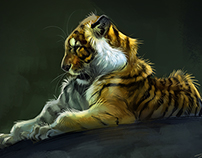 Animal sketches 2014