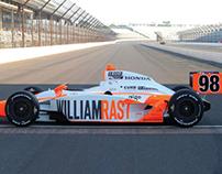 2011 Indy 500 William Rast Livery