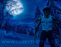 COSPLAY FX_Wolverine Winter Hunt
