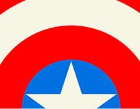 Captain America Poster Posse