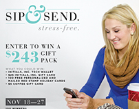 Social Media Giveaway - Initials, Inc. and Red Stamp