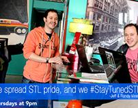 """I StayTuned"" Photo Campaign for StayTunedSTL"