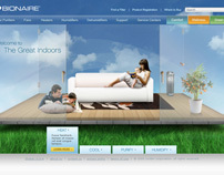 Bionaire Web Site
