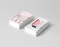 'Drug Prescription' Business Cards