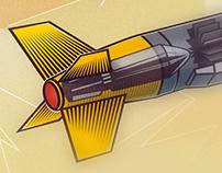 Como funciona um míssil?