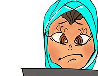 My first character design (Rokaya)