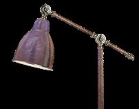ARTmetal© BAROMETER Arbetslampa (Work lamp)