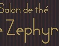 menu salon de thé le zephyr