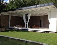 Garden Canopy with Pool & Grill