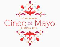 Cinco de Mayo Festival Branding