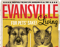 Evansville Living Sept/Oct 2013 Cover