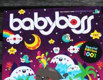 babyboss magazine cover