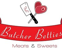 Butcher Betties Logo Design