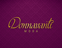 Naming e Identidade Visual para Donnavanti Moda