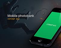 Clashot app concept
