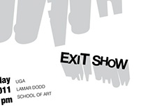 Exit Show Poster (scrapped)