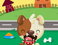 SPOT THAT ANIMAL  Game Illustration