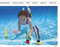 Intex e-commerce website