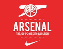 d1f35c9810c Arsenal 2005-2015 Kit Collection on Behance