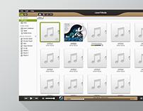 AcerCloud Music Photo UI Design @Acer
