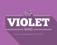 Violet Logo & Merchandise