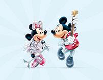 ICT Disney Live! Twitter Hashtag Contest