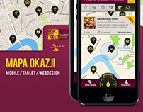Mapa Okazji - Alior Bank - Deal Map Mobile App