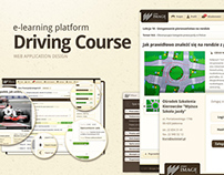 E-learning platform - Driving License Course - Web App
