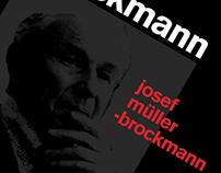 Josef Müller-Brockmann. A monograph.
