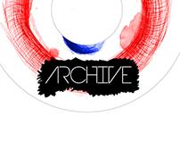 Projekt muzyczny / album Archive / Music album branding