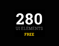 NOW FREE! MUI Elements - 280 UI elements in 3 styles