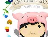 JANICE'S BIRTHDAY
