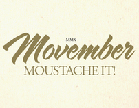 Movember - Moustache It!