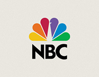 NBC TV Ident + Motion Graphic