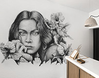 Mural - Beauty Salon