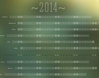 Awesome calendar 2014