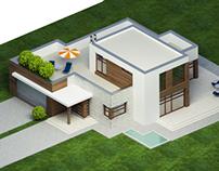 detached house I budynek jednorodzinny